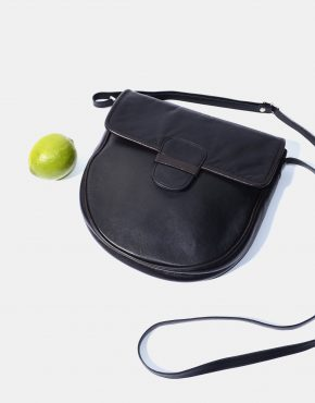 Retro 90s Crossbody Bag Womens Black