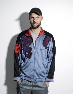 Old School multi track jacket for men