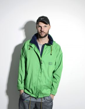 Men's rain jacket green Tenson MPC