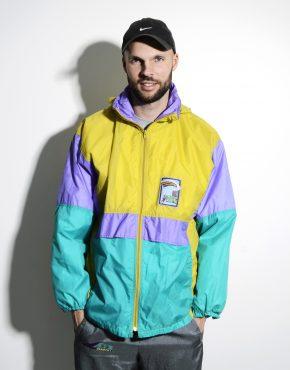 90s vintage multi colour jacket