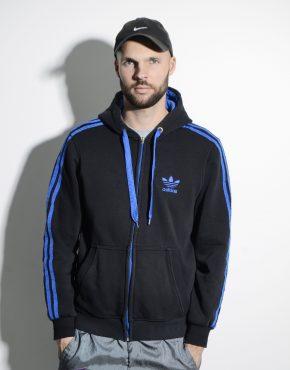 ADIDAS warm men's hooded jacket