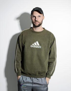 ADIDAS vintage sweatshirt green