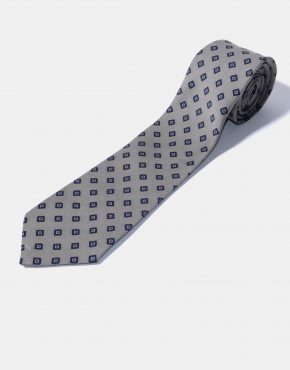 Vintage 90s necktie mens diamond pattern