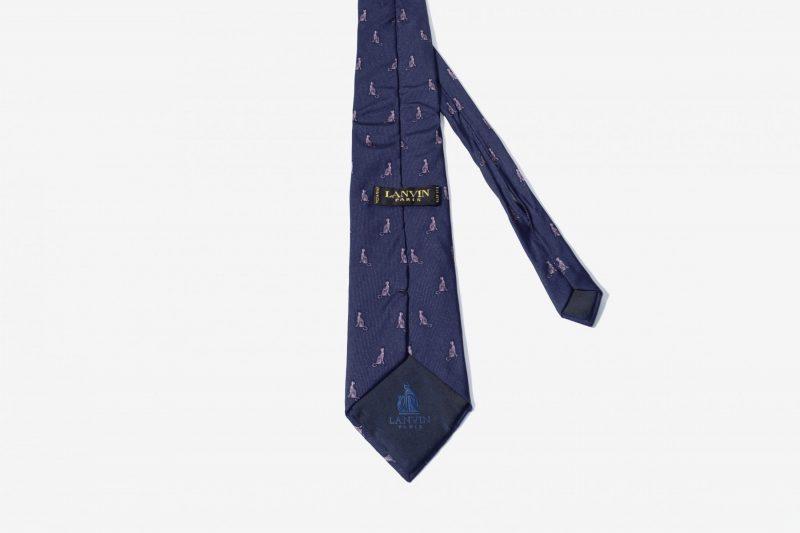 Vintage 90s necktie mens cats pattern