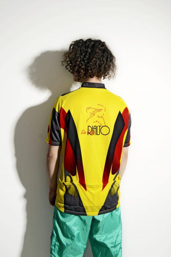 Vintage 90s cycling shirt