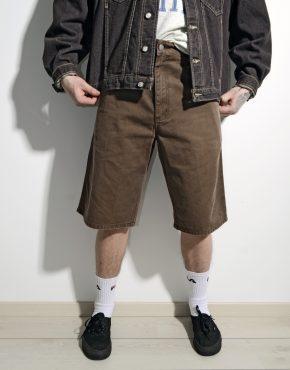 CARHARTT skater long shorts brown