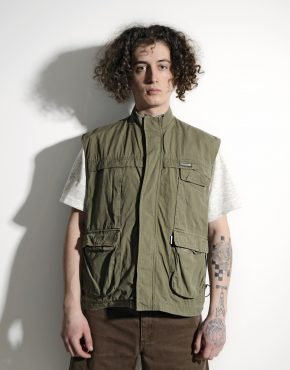 90s utility cargo vest