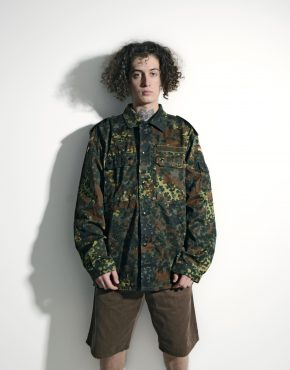 Vintage cargo military jacket