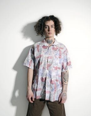 Vintage summer 90s pattern shirt
