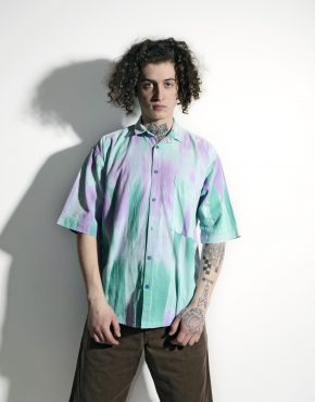 90s pattern multi shirt