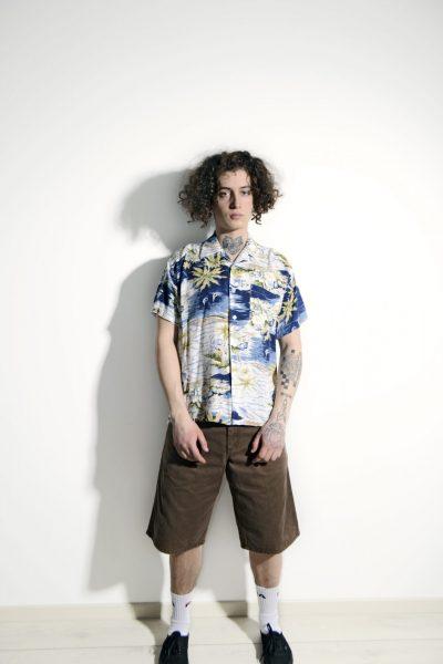 Hawaiian Aloha 90s shirt men