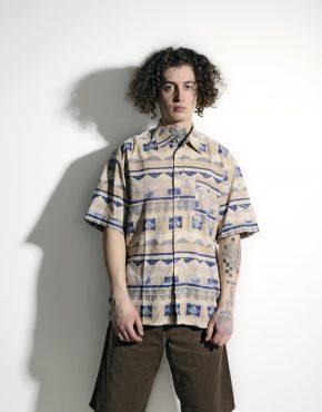 Retro shirt men