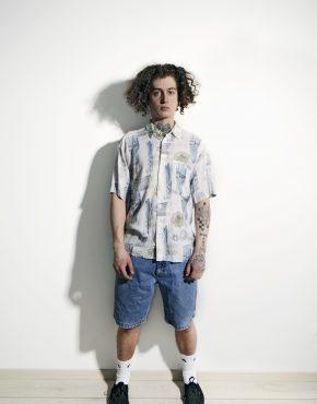 90s white shirt