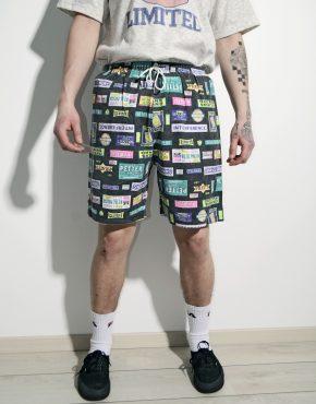 90s vintage summer shorts