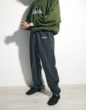 ADIDAS retro velour pants