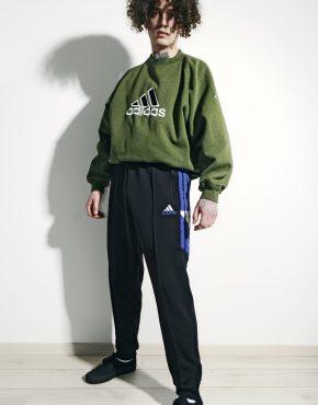 ADIDAS black track trouser