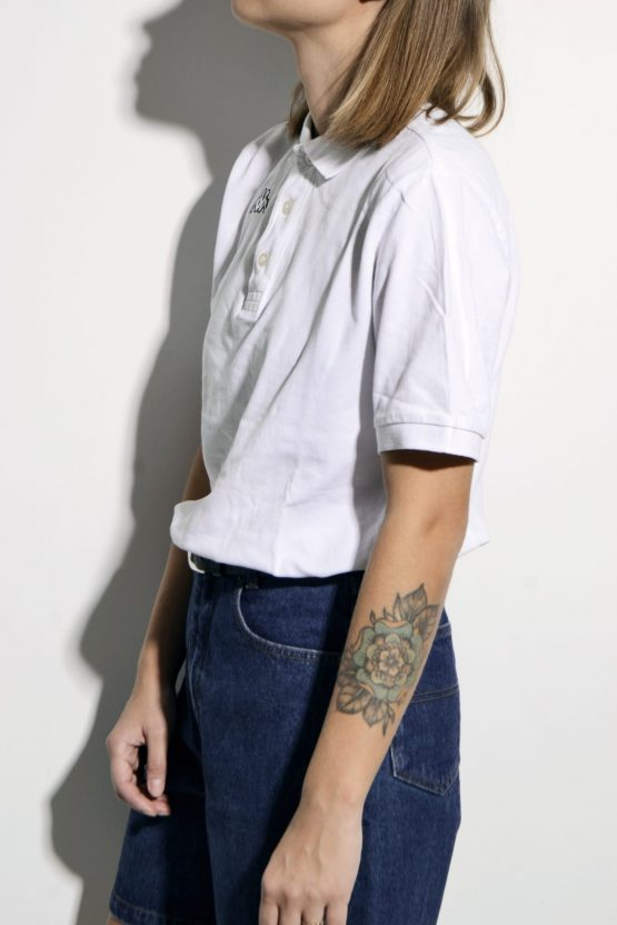 Kappa polo shirt white