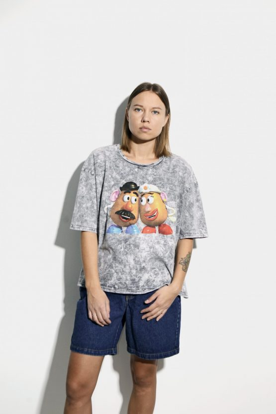 DISNEY mr. mrs. Potato Heads t-shirt