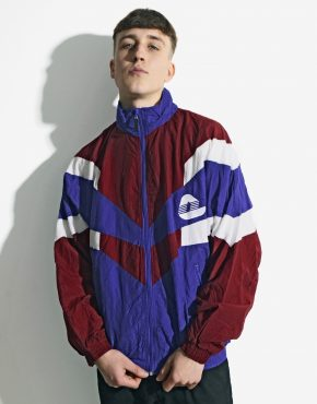 80s vintage windbreaker jacket
