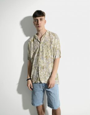 Vintage summer shirt mens
