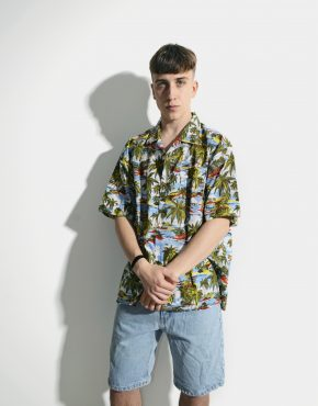 Hawaiian vintage shirt mens
