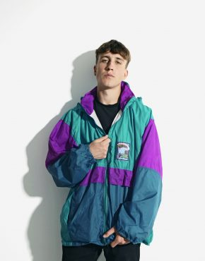 Retro windbreaker summer jacket