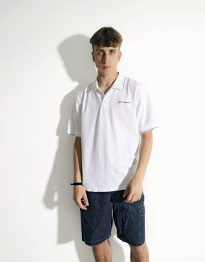 REEBOK white polo shirt