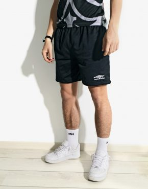 Vintage black sports shorts Umbro