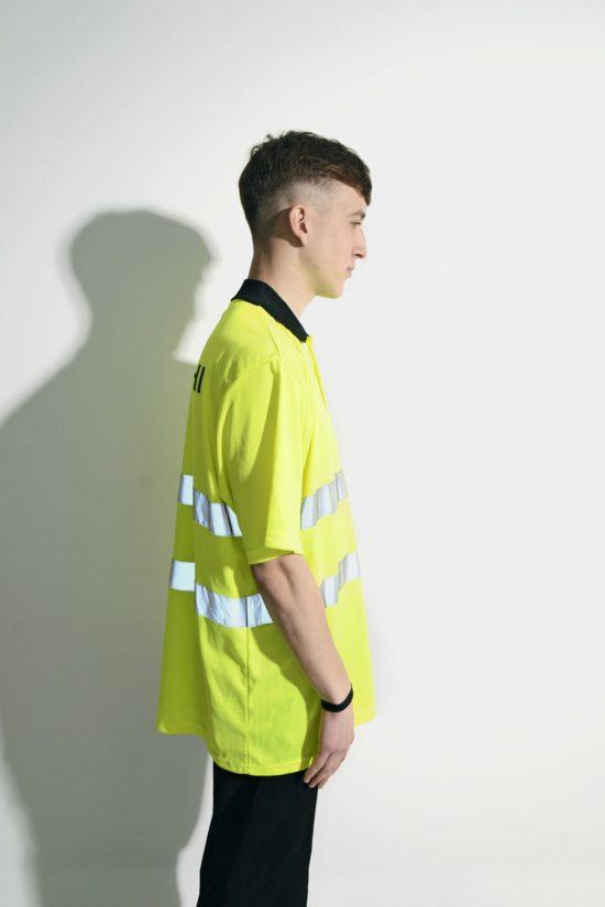Workwear Neon Yellow Shirt Men's