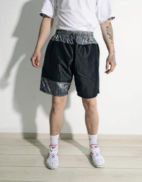 Vintage 90s summer shorts men black