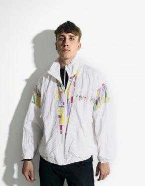 90s vintage shell jacket unisex