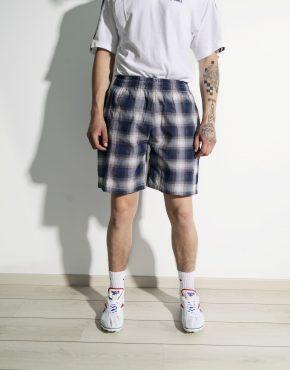 90s vintage summer shorts mens blue violet