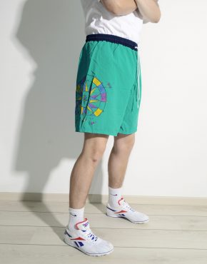 Vintage summer swim shorts men compass