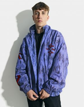 Vintage sport 90s abstract jacket