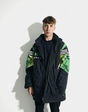 ADIDAS vintage parka jacket