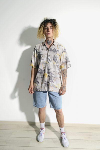 Hawaiian vintage shirt mens