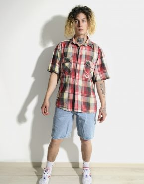 LEVIS vintage summer plaid shirt