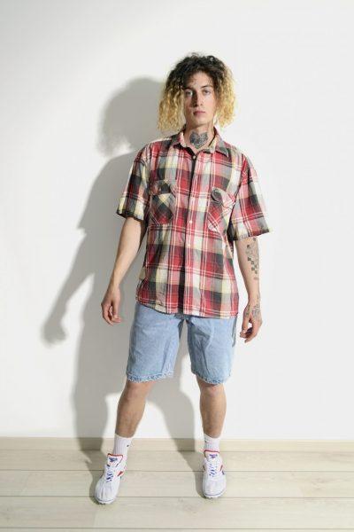 LEVIS vintage summer plaid shirt