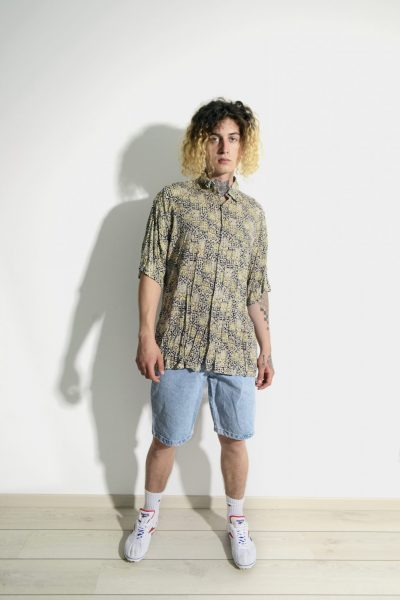 90s casual shirt men