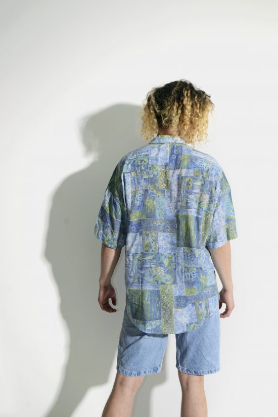 Vintage 90s casual abstract shirt
