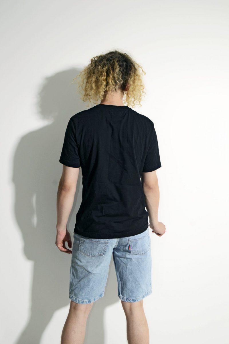 KAPPA black mens vintage t-shirt