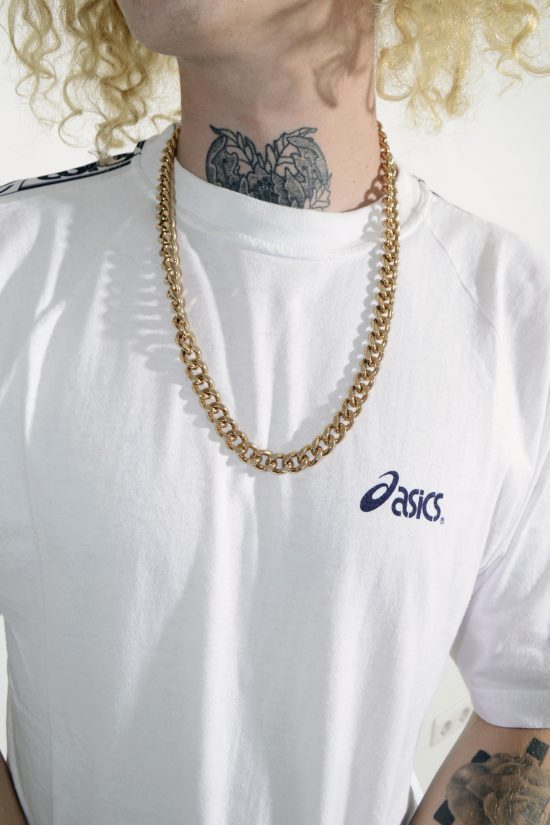 90s style GOLD CHAIN NECKLACE