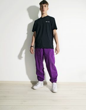Vintage purple shell pants