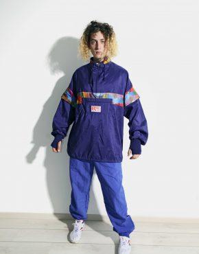 90s vintage jacket blue