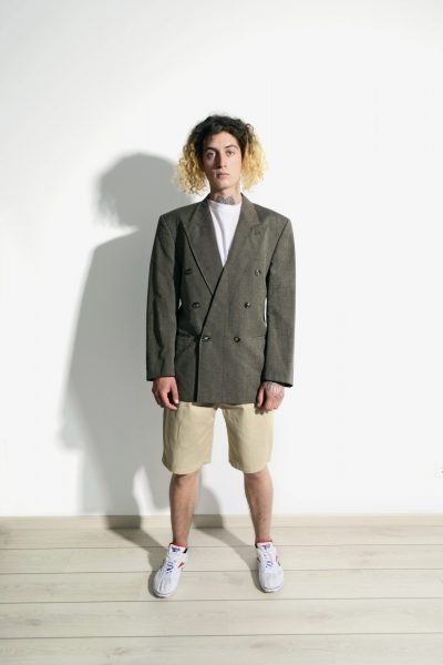 Vintage oversized brown blazer