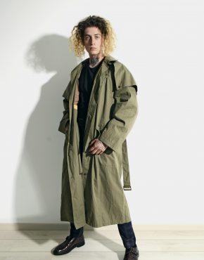 80s detective trench coat