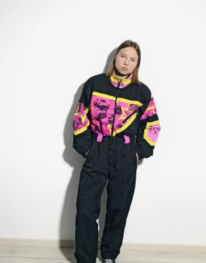 vintage ski suit women