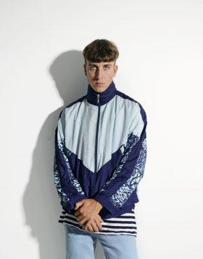 80s vintage nylon jacket