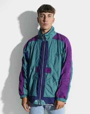90s multi colour jacket