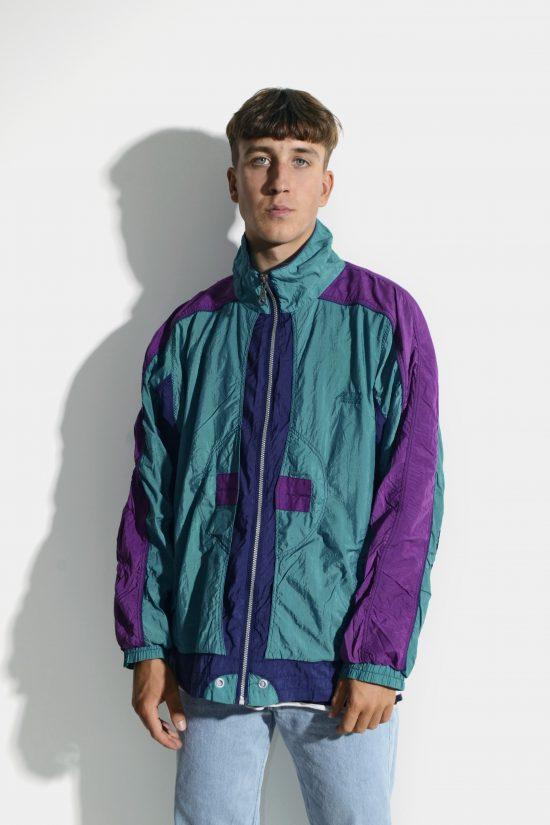 90s multi colour jacket